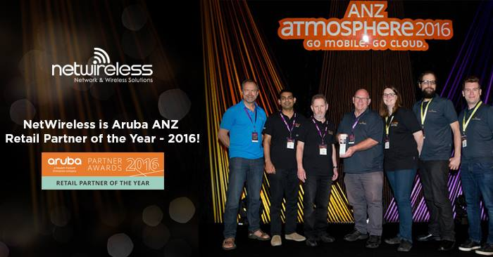 Aruba Networks Retail Partner of the Year 2016