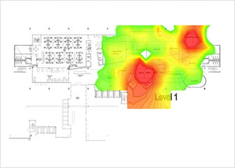 Wireless Site Survey Heatmap